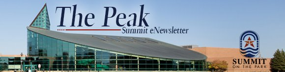 The Peak Summit eNewsletter Message