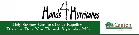 Help Support Canton's Insect Repellent Donation Drive