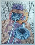 Blues Man 1 by Artist Welton