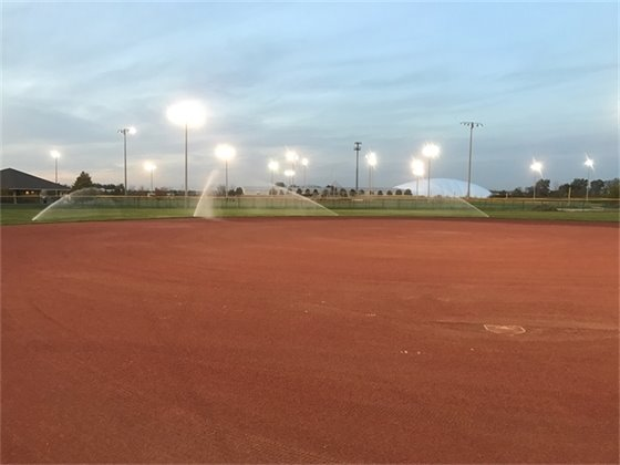 Canton Sports Center newly renovated fields.