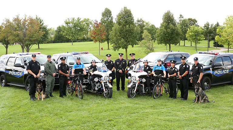 Police Officer group photo