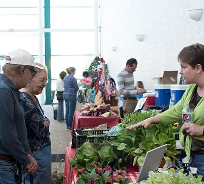 Winter Farmers Market Photo